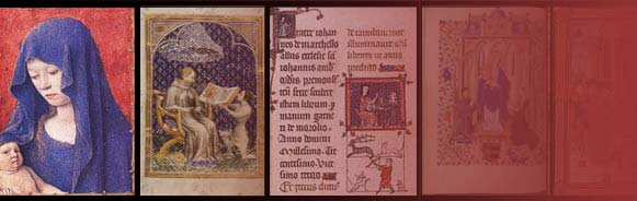 Bandeau de Medieval Illuminated Manuscripts