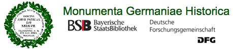 Logo des Monumenta Germaniae Historica (MGH)